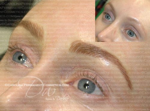 how to make tattoo eyebrows look natural