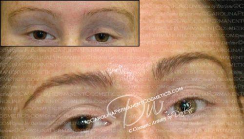 Permanent Eyebrows - Carolina Permanent Cosmetics